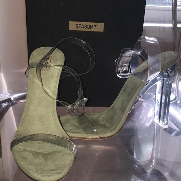 3672f074f785 Yeezy Season 7 Brand New PVC Sandals
